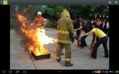 D-005 ชุดดับเพลิงมีทั้งในและนอก
