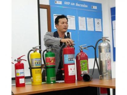 I-003 ซ้อมดับเพลิงและตรวจเช็คหลังการขาย